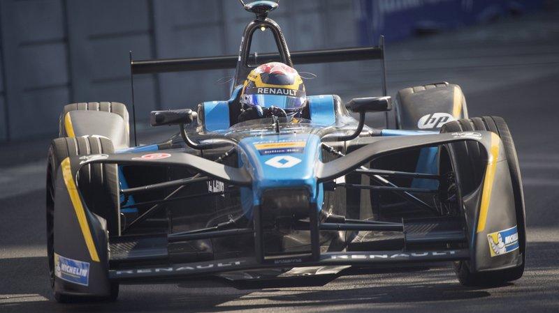 Formule E: pas de deuxième titre pour Buemi, di Grassi prend sa place