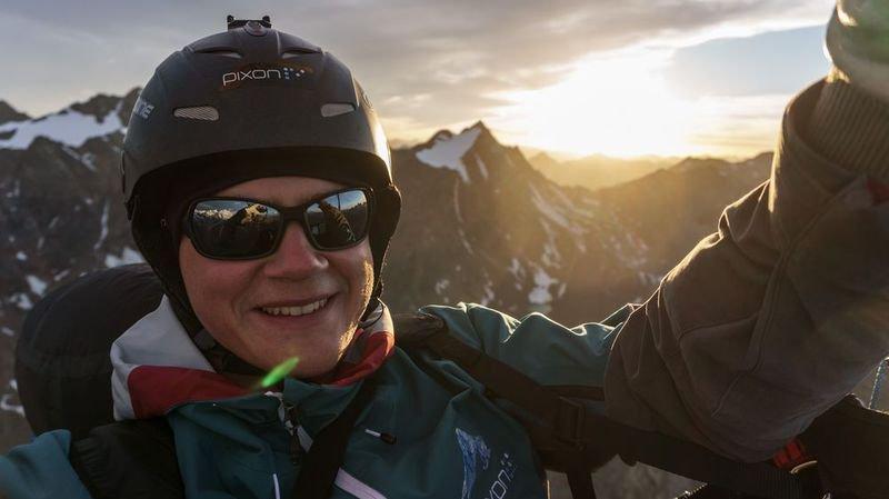 Parapente: double record suisse de distance pour le Viégeois Jan Sterren