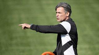 La réaction de Maurizio Jacobacci après la victoire du FC Sion à Thoune