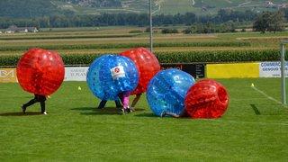 Des bulles d'air et de foot pour l'association Istok