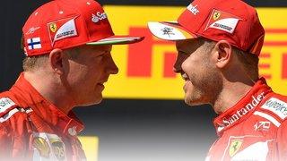 Vettel et Räikkönen signent un doublé