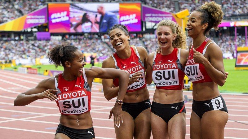 Mondiaux d'athlétisme de Londres: les relayeuses suisses en finale!