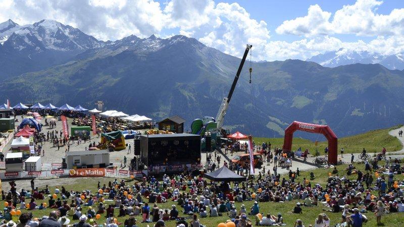 L'alpage de La Chaux transformé en petit Woodstock ce dimanche pour une fête des familles un peu plus rock.