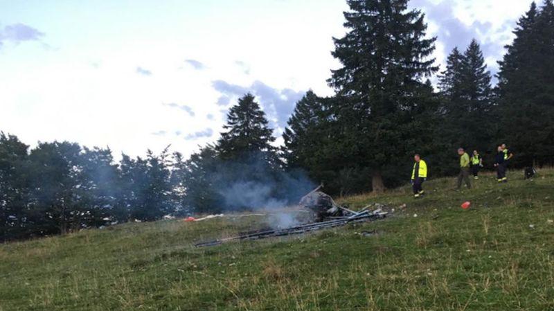 Neuchâtel: deux morts dans le crash d'un ULM à proximité du Creux-du-Van