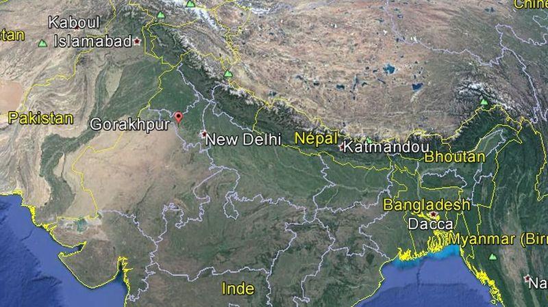 Une enquête a été ouverte sur l'hôpital Baba Raghav Das, dans le district de Gorakhpur, dans l'Uttar Pradesh, l'Etat le plus peuplé du pays.
