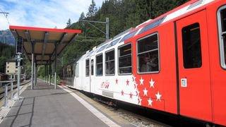La voie est libre pour le Mont-Blanc Express entre Martigny et St-Gervais