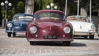 Ces Porsches des années folles se sont données rendez vous sous le soleil sédunois