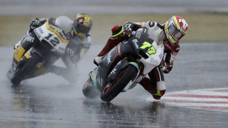 Motocyclisme: Dominique Agerter remporte le Grand Prix de Saint-Marin devant Thomas Lüthi