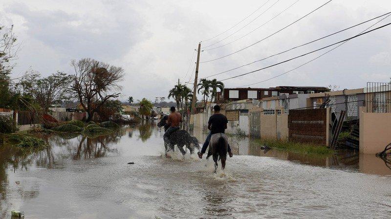 Ouragan Maria: Porto Rico ''anéanti'' fait face aux risques d'inondations