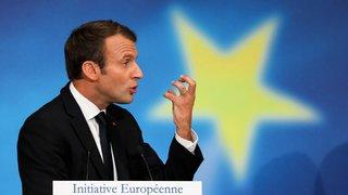 Macron dévoile son grand projet pour l'Europe