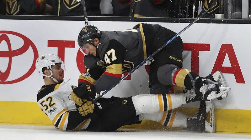 NHL: Luca Sbisa signe une septième victoire avec les Golden Knights