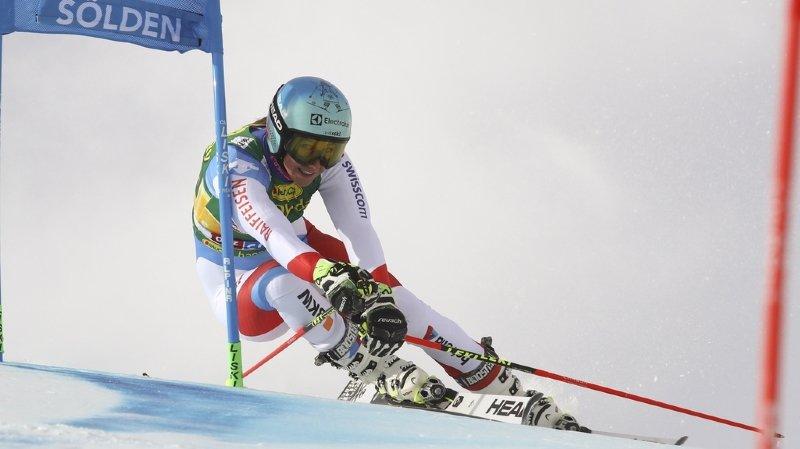Sölden: Wendy Holdener termine 6e et Mélanie Meillard est éliminée après la 2e manche
