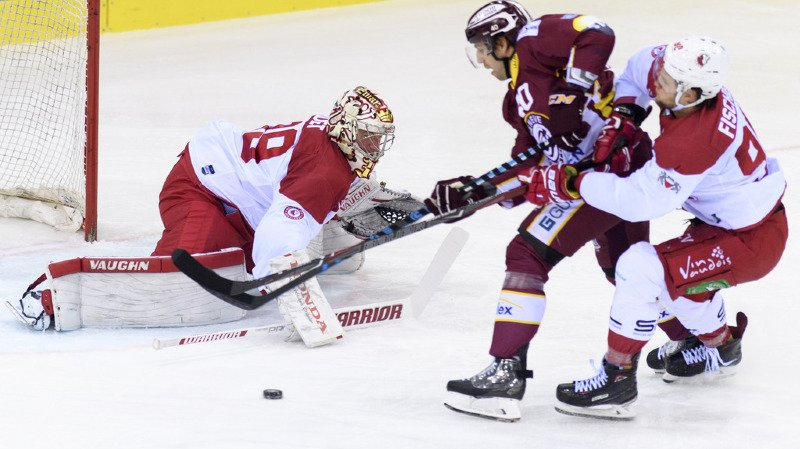 Hockey: Genève-Servette enfonce le Lausanne Hockey Club, battu 6-1 aux Vernets