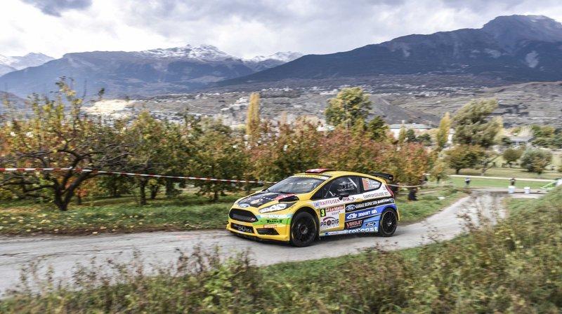 La 58e édition du rallye international du Valais a pris fin aux casernes pour le triple champion de Suisse Sébastien Carron.