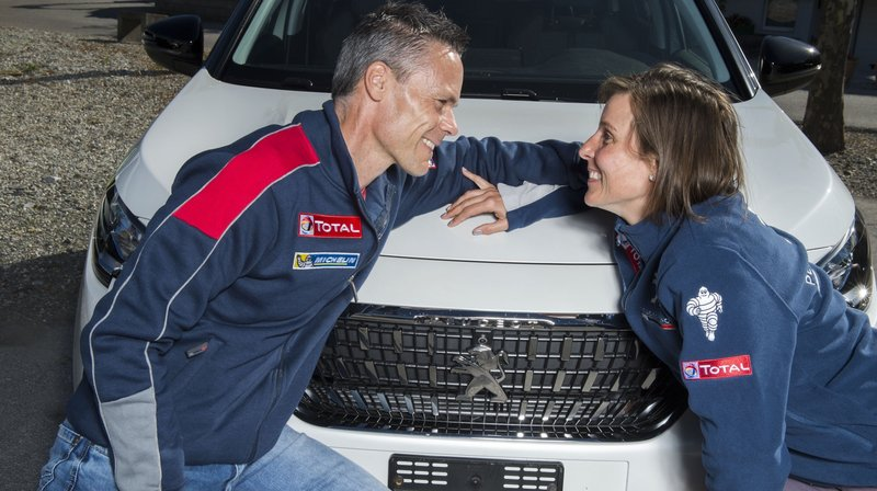 Xavier Craviolini et Yannick Micheloud disputent leur 15e Rallye du Valais et sont amoureux depuis bientôt quinze ans.