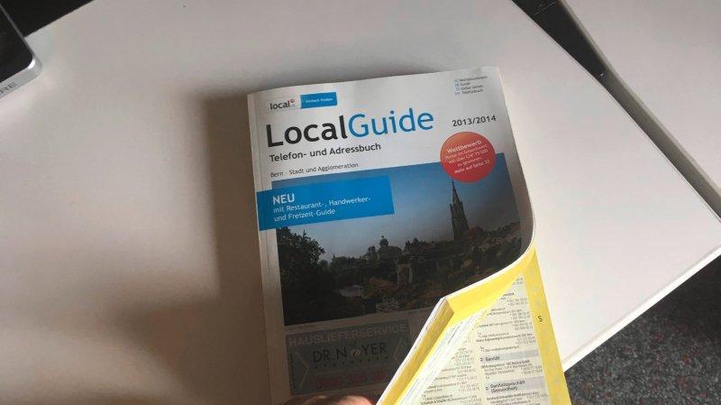 Imprimés en Allemagne, les bottins Local Guide seraient acheminés en Suisse par des camions polonais.