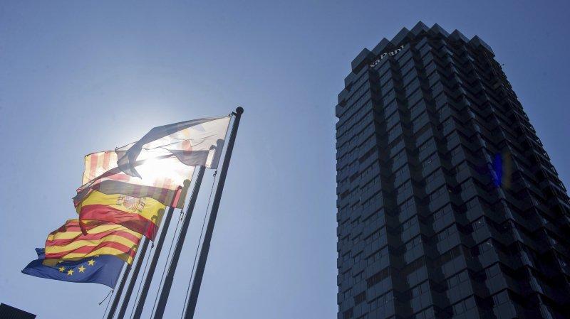 CaixaBank, la première banque de Catalogne et troisième d'Espagne, étudie un transfert aux îles Baléares, une région voisine.