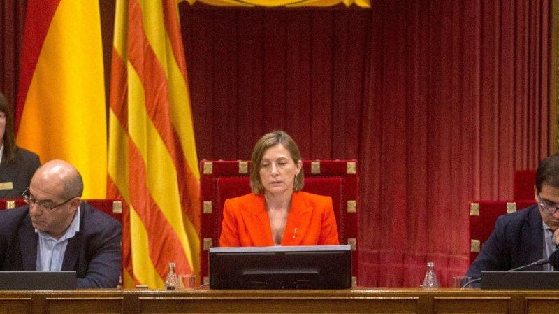 Carles Puigdemont a prononcé un discours de 40 minutes sur l'indépendance de sa région.