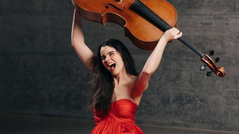 La violoncelliste valaisanne Estelle Revaz a choisi Martigny pour vernir son second disque salué par la critique.