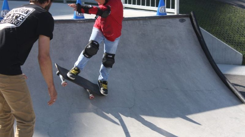 Le skate board figure au nombre des activités de ces deux prochains jours au CERM de Martigny.