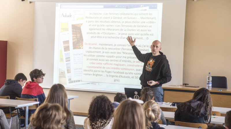 Stéphane Koch appelle les adolescents à plus de responsabilité et de conscience dans l'utilisation des nouvelles technologies.