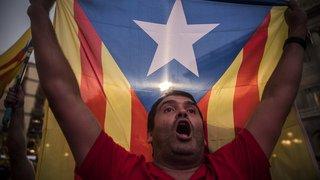 La proclamation d'indépendance de la Catalogne en images