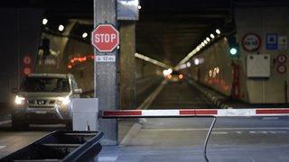 Fermeture du tunnel du Grand-Saint-Bernard: l'impact économique sera limité