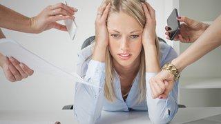 """Santé: le """"burn-out"""" ne sera pas considéré comme une maladie professionnelle en Suisse"""