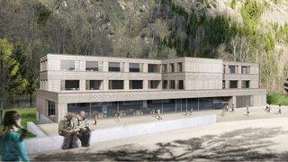 Versegères: le nouveau centre scolaire sur les rails