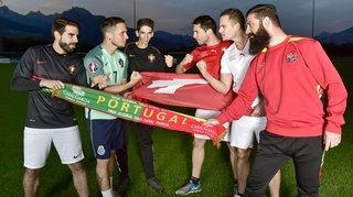 Portugal-Suisse: match entre les deux camps du FC Ardon II