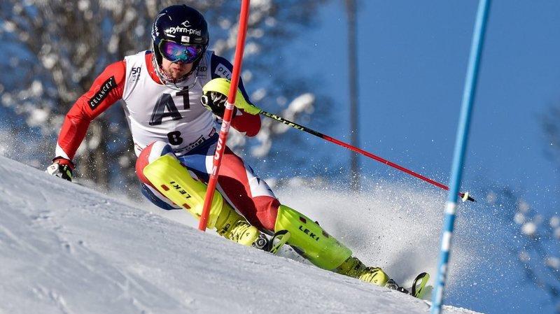 Dave Ryding avait décroché la 2e place l'hiver dernier à Kitzbühel.