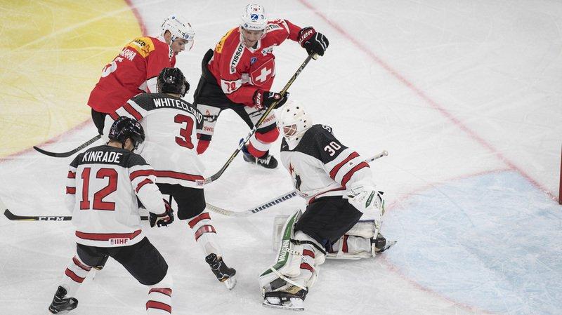 Karjala Cup: A Bienne, la Suisse s'incline devant le Canada