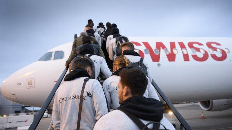 Football: l'équipe de Suisse coincée plus d'une heure à Belfast à cause d'un atterrissage d'urgence