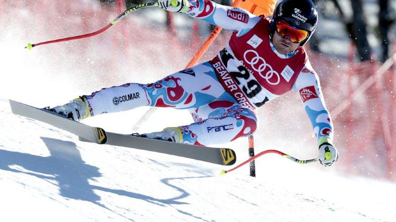 Ski alpin: plusieurs descendeurs suisses ont assisté à la chute mortelle du Français David Poisson