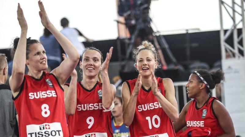 Basketball: l'équipe féminine suisse qualifiée pour la Coupe du monde 2018 de 3x3