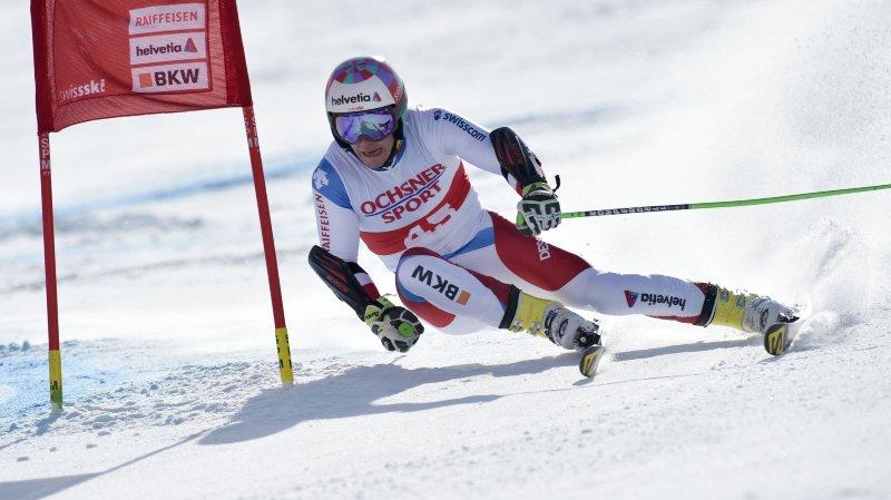 Le champion du monde du combiné alpin Luca Aerni sera l'une des têtes d'affiche de la délégation valaisanne sur le cirque blanc.