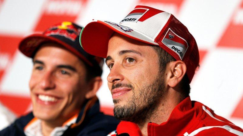 Marquez en position de force avant le GP de Valence