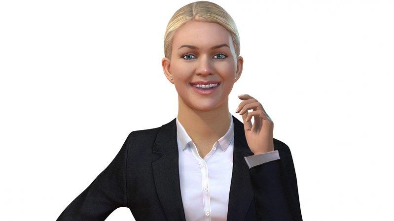 L'assistante virtuelle Amelia, une intelligence artificielle, est capable de converser avec l'être humain.