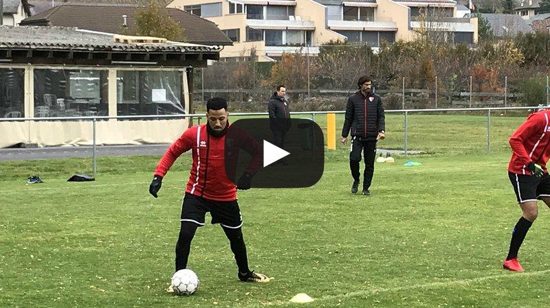 FC Sion: le retour surprise de Carlitos