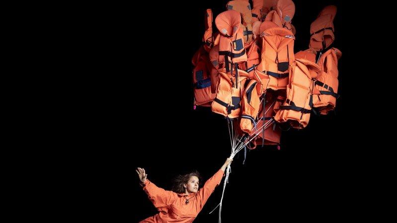 """La compagnie scandinave Cirkus Cirkör interroge la migration dans son spectacle """"Limits""""."""