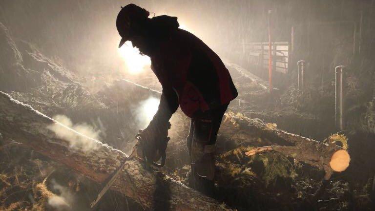 La tempête provoque des dégâts en Valais