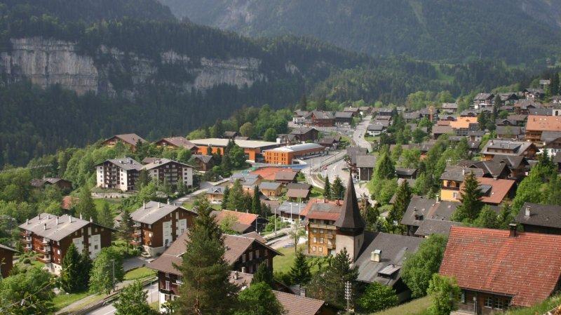 Les trois communes de la Vallée d'Illiez ont dit oui (en image Champéry).