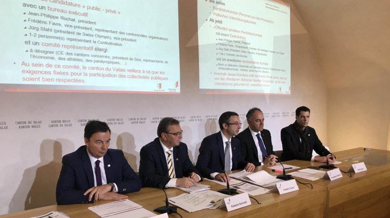 Sion 2026: 81 millions de francs à investir dans les infrastructures en Valais