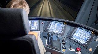 Les CFF testent un système de conduite automatique