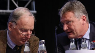 L'AfD opte pour deux dirigeants de l'aile dure