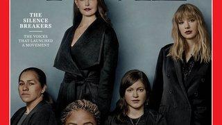 Le magazine «Time»  élit les femmes harcelées