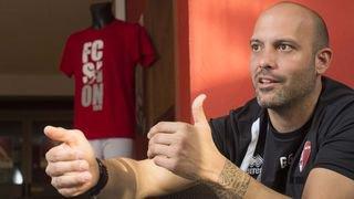 """Gabri: """"Je veux un jeu attrayant, mais je ne peux pas promettre celui du FC Barcelone"""""""