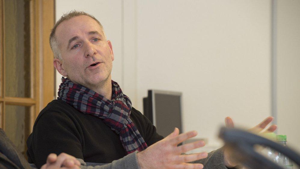 Léonard Bender, président de l'association valaisanne des architextes et ingénieurs