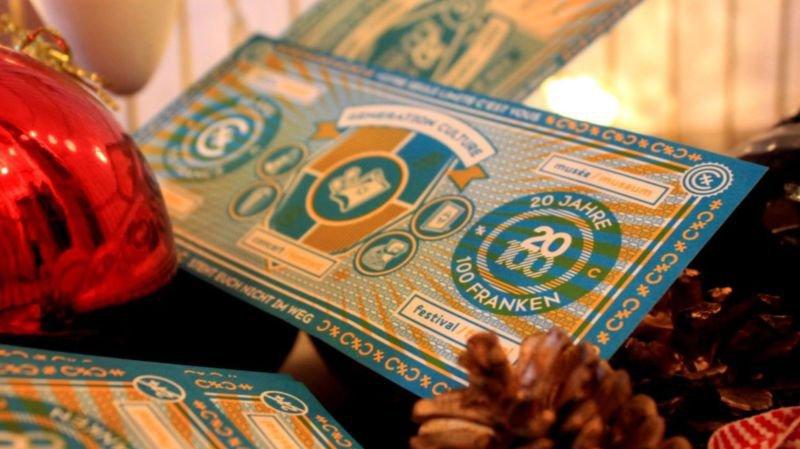 Valais: pour son lustre, 20 ans 100 francs se paie un succès