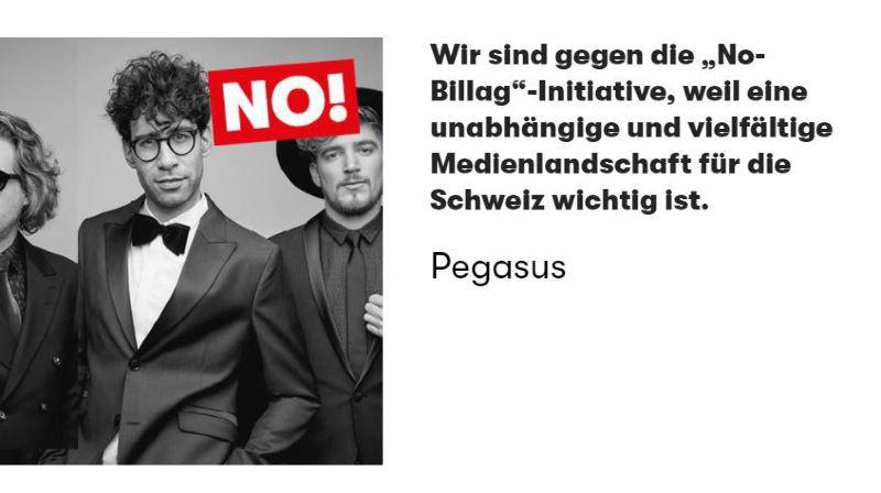 """Redevance radio-TV: plus de 5000 artistes suisses se mobilisent contre """"No Billag"""""""